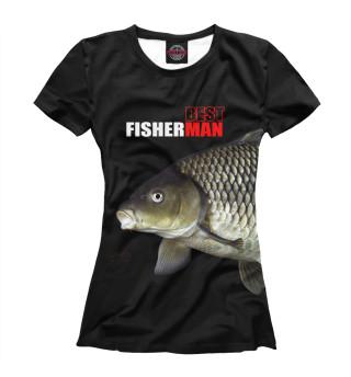 Футболка женская Best fishermen