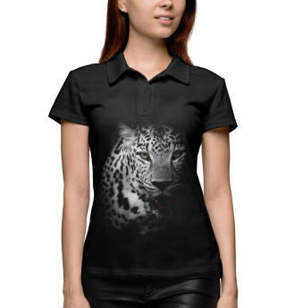 Поло женское Леопард (3187)