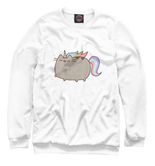 Одежда с принтом Pusheen Happy Unicorn