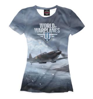 Футболка женская World of Warplanes (469)