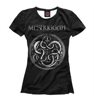 Футболка женская Meshuggah (3176)