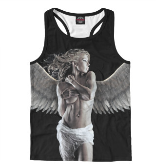 Майка борцовка мужская Девушка - ангел