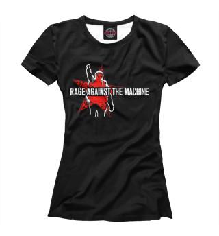 Футболка женская Rage Against the Machine (1791)