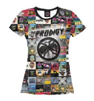Футболка женская Prodigy All Albums
