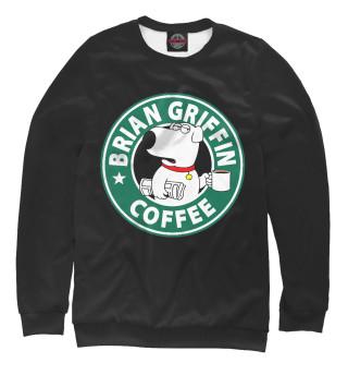 Одежда с принтом Brian Griffin Coffee