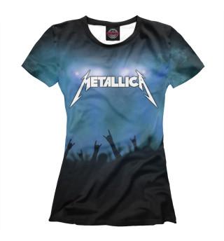 Футболка женская Metallica (8953)