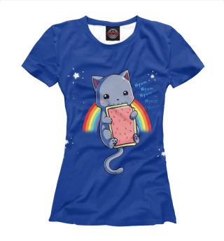 Футболка женская Nyan Cat