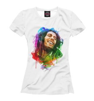 Футболка женская Bob Marley (5956)