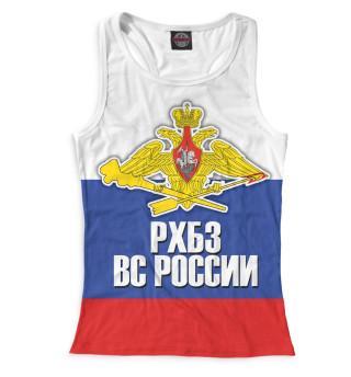 Майка борцовка женская Войска РХБЗ (9336)