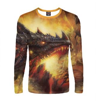Лонгслив  мужской Дракон (7708)
