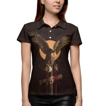 Поло женское Twin Peaks Owl (9799)
