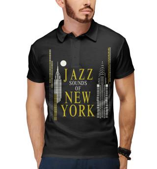 Поло мужское Jazz New-York