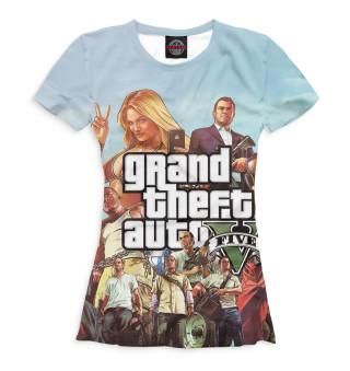 Футболка женская Grand Theft Auto V