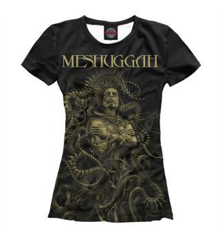 Футболка женская Meshuggah