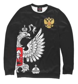 Одежда с принтом Россия Exclusive Black