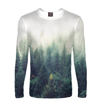 Лонгслив  мужской Сибирский лес
