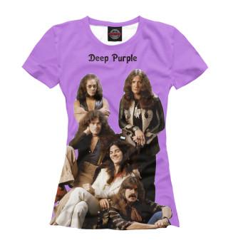 Футболка женская Deep Purple (9022)