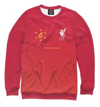 Одежда с принтом Ливерпуль - 6 кратные!