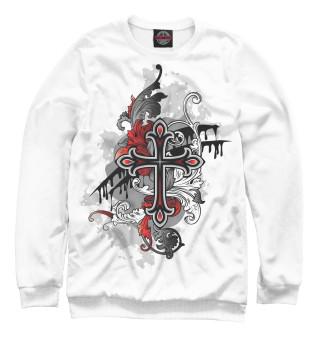 Одежда с принтом Ирландия, кельтский крест