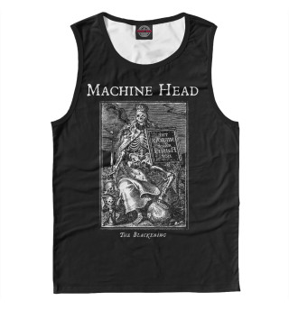 Майка мужская Machine Head (6106)