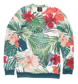 Одежда с принтом Пальмы