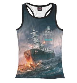 Майка борцовка женская World of Warships