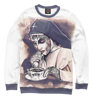 Одежда с принтом Bad Nun