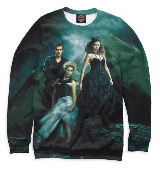 Одежда с принтом Дневники вампира (336829)