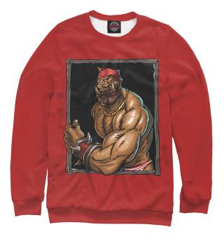 Одежда с принтом Гаррош красный Флекс
