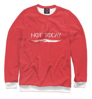 Одежда с принтом Not today - Игра престолов