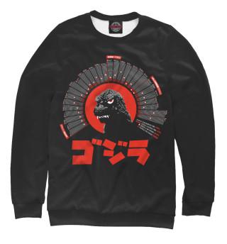 Одежда с принтом Godzilla data