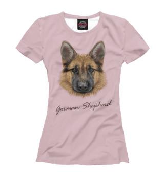 Футболка женская German Shepherd (7818)