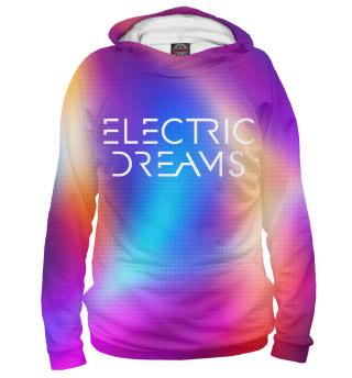 Худи женское Электрические сны (4231)