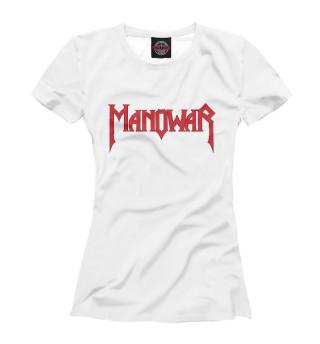 Футболка женская Manowar (4680)
