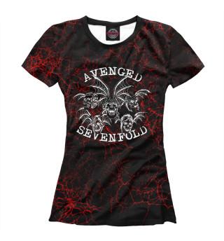 Футболка женская Avenged Sevenfold