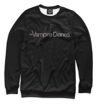 Одежда с принтом Дневники вампира (466176)