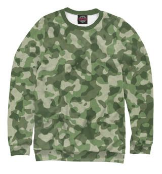 Одежда с принтом Зелёный камуфляж (436085)