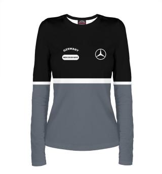 Лонгслив  женский Mercedes-Benz (9186)