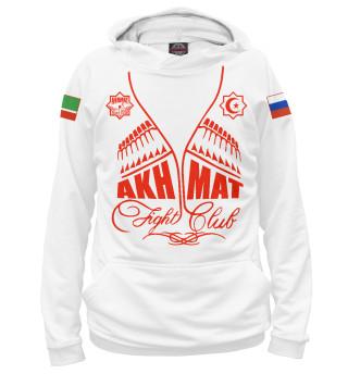 Худи женское Fight Club Akhmat White