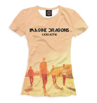 Футболка женская Imagine Dragons (517)