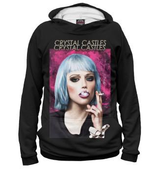 Худи женское Crystal Castles (4321)