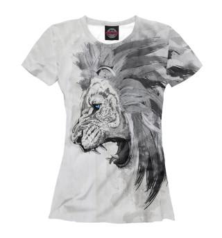 Футболка женская Lion