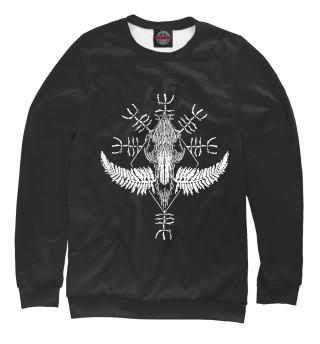 Одежда с принтом Viking runes