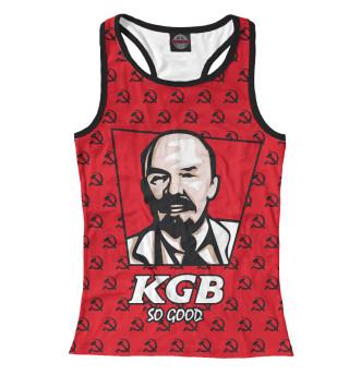 Майка борцовка женская KGB So Good