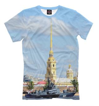 Футболка мужская Петропавловская крепость