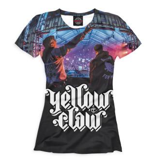 Футболка женская Yellow Claw (2248)