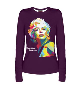 Лонгслив  женский Marilyn Monroe
