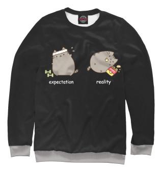 Одежда с принтом reality