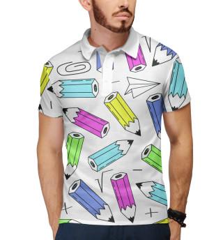Поло мужское The pencils