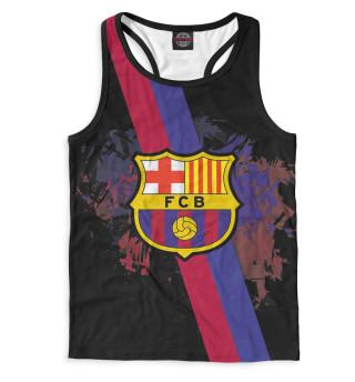 Майка борцовка мужская Barcelona